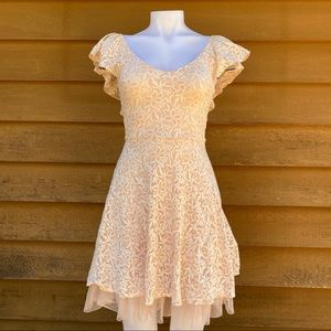 Disney   Cinderella Floral Ruffle Lace Dress